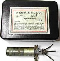3 Stueck S. Minenzuender.35